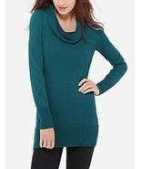 The Limited Cowl Neck Tunic Sweater, Teal, size L, NWT - ₨1,627.98 INR