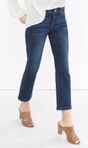 Express Dark Wash Mid Rise Bell Crop Jean, size 10, NWT - $54.99