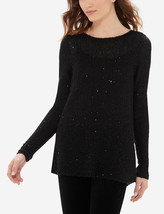 The Limited Sequin Shine Sweater, Black, size XL, NWT - $45.00