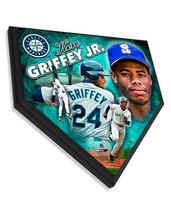 "Ken Griffey Jr. Seattle Mariners 11.5"" x 11.5"" Home Plate Plaque  - $40.95"