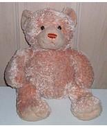 """Build-A-Bear 14"""" Plush Light Orange Creamsicle Teddy Bear Wants Special ... - $7.69"""