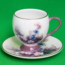 Beautiful Vintage Lena Liu Blossoms And Butterflies Cup & Saucer, Teleflora - $6.95