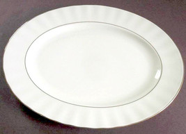 "Gorham Grand Manor Gold 14"" Large Platter Made in U.S.A New - $68.90"