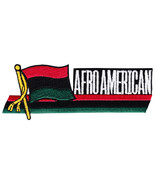 African American Cut-Out Patch - $3.00