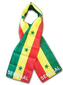 Senegal flag scarf 10523