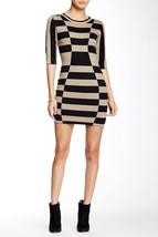 Papillon Crew Neck Elbow Sleeve Sweater Dress L... - $65.00