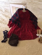 American Girl  Kirsten School Story Complete Outfit EUC Pleasant Co, Boo... - $63.86