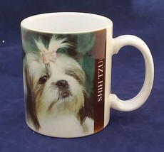 Shih tzu dogs  photo over ceramic mug Barbara A... - $6.79