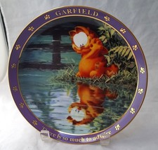 Garfield Decorative Plate A Day With Garfield Ther'S So Much To Admire Jim Davis - $15.00