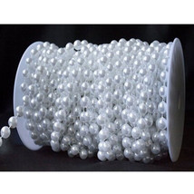 8mm Beige /White Pearls Faux Crystal Beads For Flowers Wedding Party Decoration - $17.93+