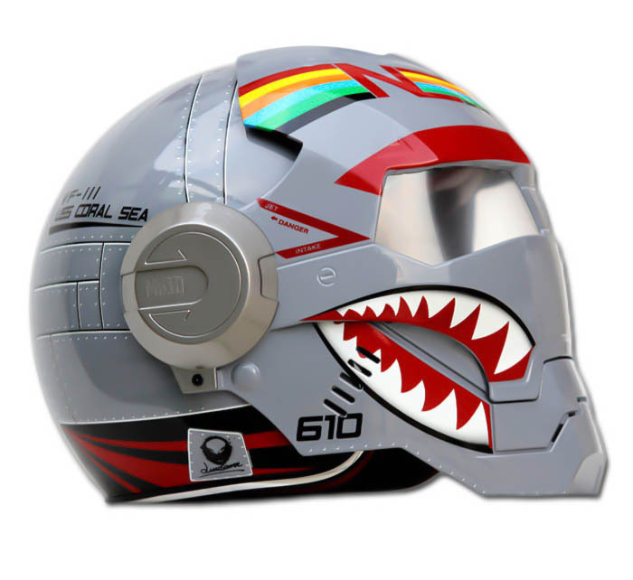 Masei 610 F4 Phantom Chopper Motorcycle Helmet image 6
