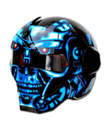 Masei 610 Terminator War Machine Chopper Motorcycle Helmet - $499.00