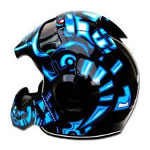Masei 610 Terminator War Machine Chopper Motorcycle Helmet image 5