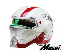 Masei 610 UN Spacy White Motorcycle Helmet - $499.00