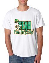 Men's Tee Shirt Saint Patrick's Day Fuck Yeah Im Irish Irish Shirt - $17.00