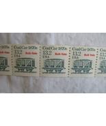 US 2259 13.2 Cent 1988 Coal Cart Bulk Rate Coil Stamps - $9.79