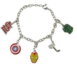 St. Louis Cardinals Marvel Avengers Silver Charm Bracelet Girls Womens J... - $19.79