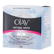 50g Olay Natural White All in One Fairness Nigh... - $19.00