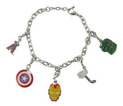 Los Angeles Angels Marvel Avengers Silver Charm Bracelet Girls Womens Je... - $19.79