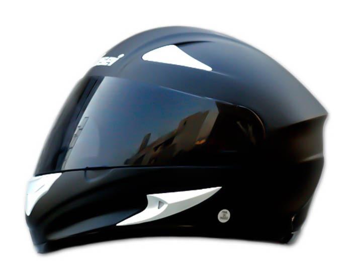 Masei 816 Matt Black Motorcycle Helmet