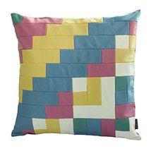 [Hot Summer] Handmade Unique Grid Decorative Pillowcase 48CM - $21.16