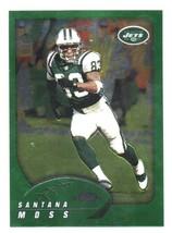 2002 Topps Chrome #21 Santana Moss New York Jets - $0.99