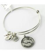 Alex & Ani A13EB01TARS Taurus II Zodiac Expandable Bracelet Russian Silv... - $22.80