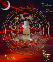 No. 137 Aries attract good luck oil. Astrological bring luck, fortune - $19.99
