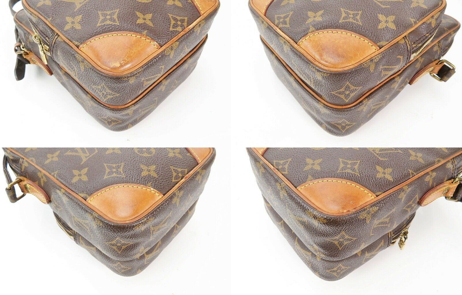 Authentic LOUIS VUITTON Amazone Monogram Cross body Shoulder Bag Purse #34636 image 7