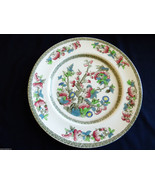 Johnson Brothers England Indian Tree Green Greek Floral pattern Dinner P... - $38.61