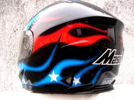 Masei 816 USA Flag Motorcycle Helmet image 4