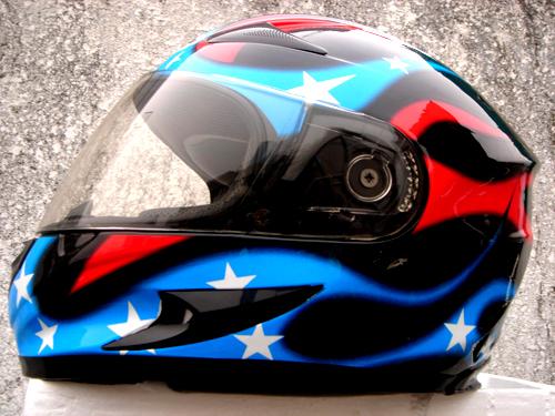 Masei 816 USA Flag Motorcycle Helmet