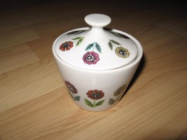 Nasco Fascination Sugar Bowl - Vintage Flower Japan Mid Century Atomic C... - $39.59