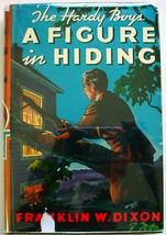 Hardy Boys #16 A Figure in Hiding 1950C-20 hcdj orange Gretta eps Frankl... - $12.00