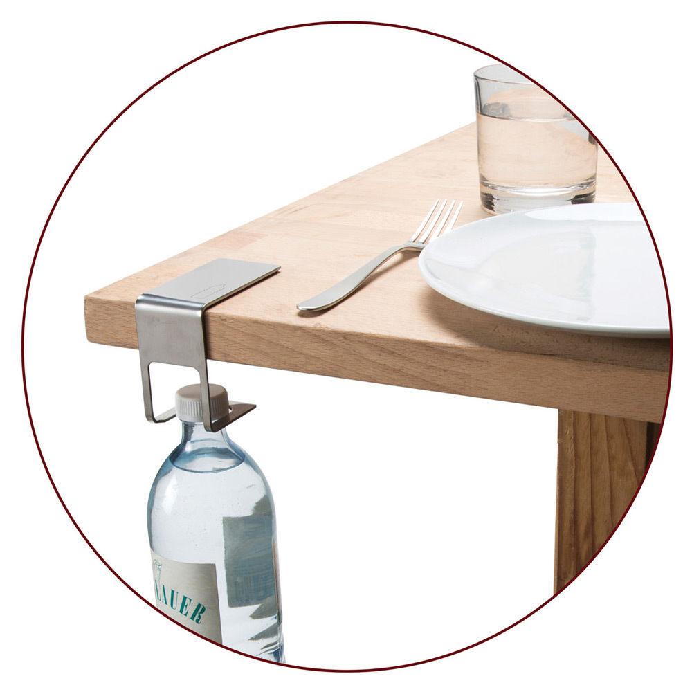 Discreet Bottle hanger Elegant metal Holder and 11 similar items
