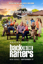 """Back to the Rafters Poster 2021 TV Series Art Print Size 24x36"""" 27x40"""" 32x48"""" - £7.89 GBP+"""