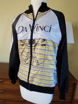 Italian Filato Folco Track Jacket  Italy  Bicycle Racing Sport Da Vinci ... - $45.54