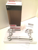 Delta Greenwich Double Post Toilet Paper Holder in Polished Chrome - $16.97