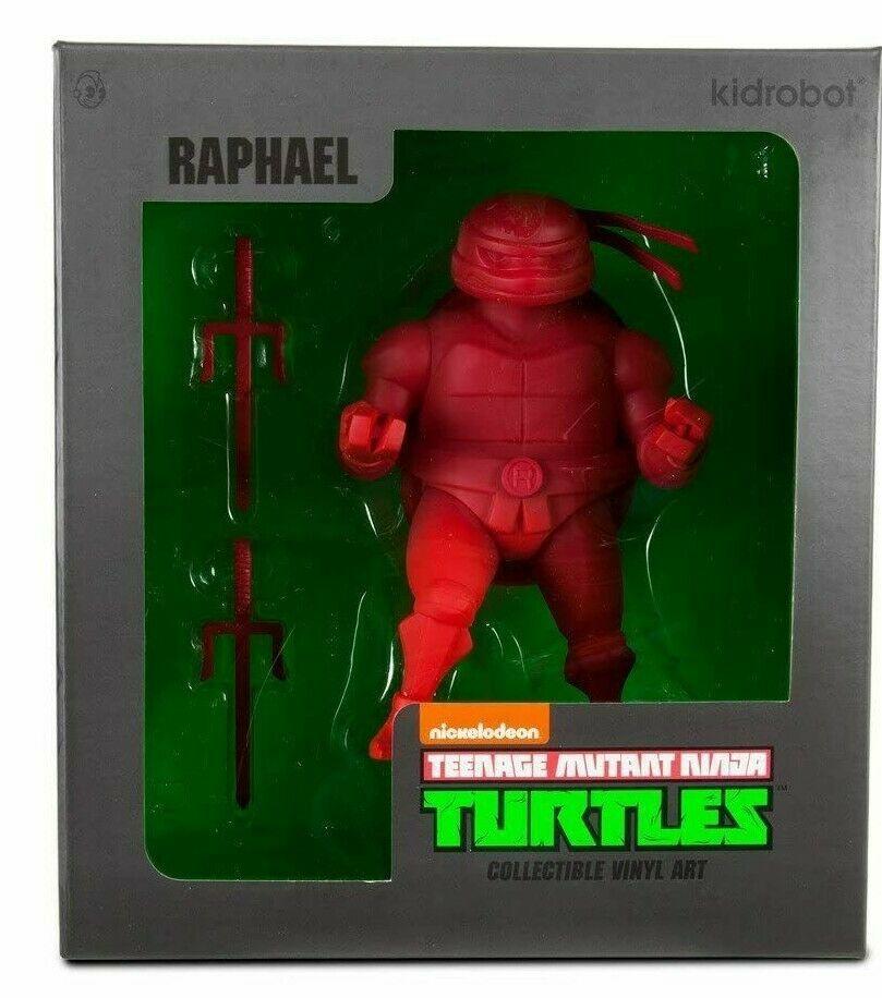 Kidrobot Teenage Mutant Ninja Turtles 7 Inch Raphael Vinyl Figure TMNT NIB