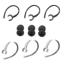 12 Pc Samsung Hm1100 Hm 1100 Ear Hooks / Foam Buds Repair Set Compatible... - $2.54