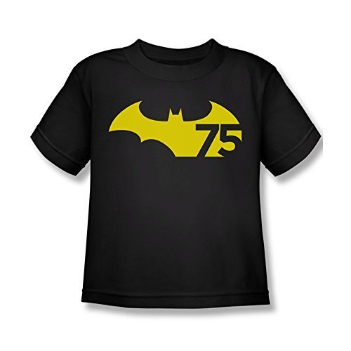 Simply Superheroes boys batman 75th anniversary logo kids youth t shirt Size ...