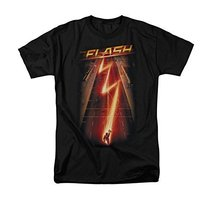 Simply Superheroes Mens the flash tv show flash ave t shirt Mens Regular 4XL - $31.99