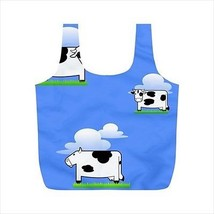 Cloud Cows Patterned Reusable Recycle Bag - Double Sided Print - $9.69+