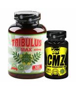 Ten CMZ | Calcium Magnesium Zinc | Immune System | 120 Capsules | Tribulus - $46.52