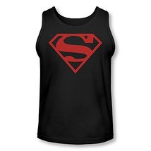 Simply Superheroes Mens superboy red symbol adult tank top Small - $25.99