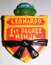 1989 Teenage Mutant Ninja Turtles Leonardo 1st Degree Ninja Burger King Promo - $15.00