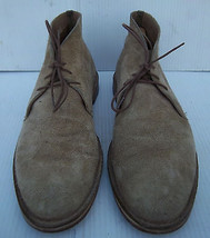 Men's Cole Haan Tan Suede Leather Chukka Boots -- Size 13M US  - $39.84