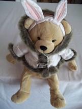 "17"" Bath & Body Works Snow Bunny Plush Bear - Complete with Jacket - $9.99"
