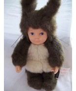 "9"" Anne Geddes Bunny Rabbit Plush - 1998-Collectible Like New - $8.99"