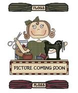 FLOSS BUNDLE for Triple Treat halloween cross stitch kit Val's Stuff  - $24.75